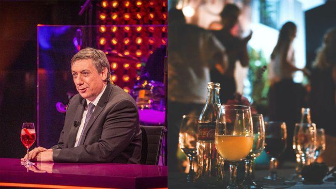 """Jan Jambon lors de l'émission """"Cooke & Verhulst Show"""" sur Play Vier."""