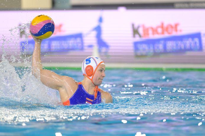 Iris Wolves begin dit jaar in actie tijdens het olympisch kwalificatietoernooi.