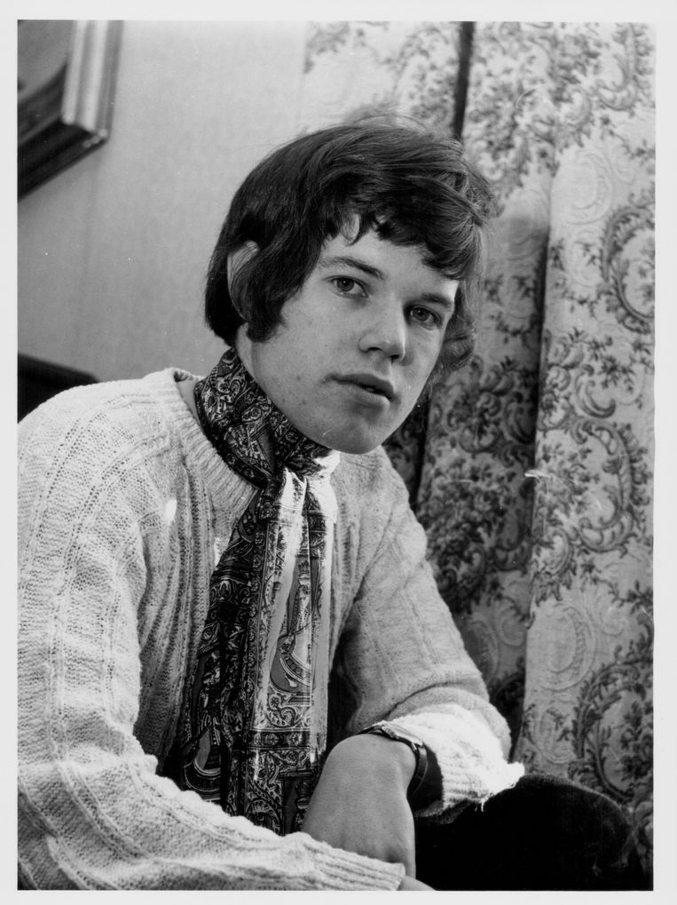 Chris Jagger in 1967. Beeld Getty Images