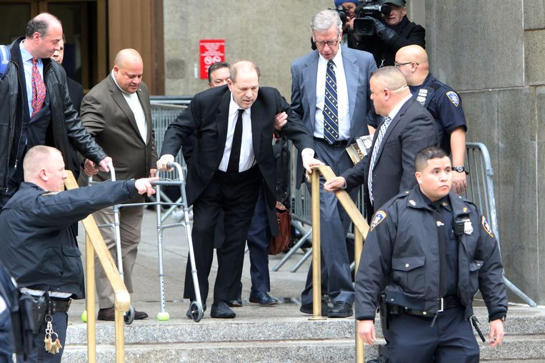 Harvey Weinstein,  ooit de meest invloedrijke filmproducent in Hollywood.  Beeld Brunopress