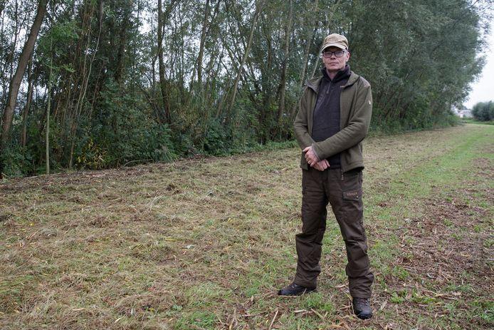 Jager Tjalling van der Zee uit Olst is één van de jagers die graag BOA wil worden in de natuur.