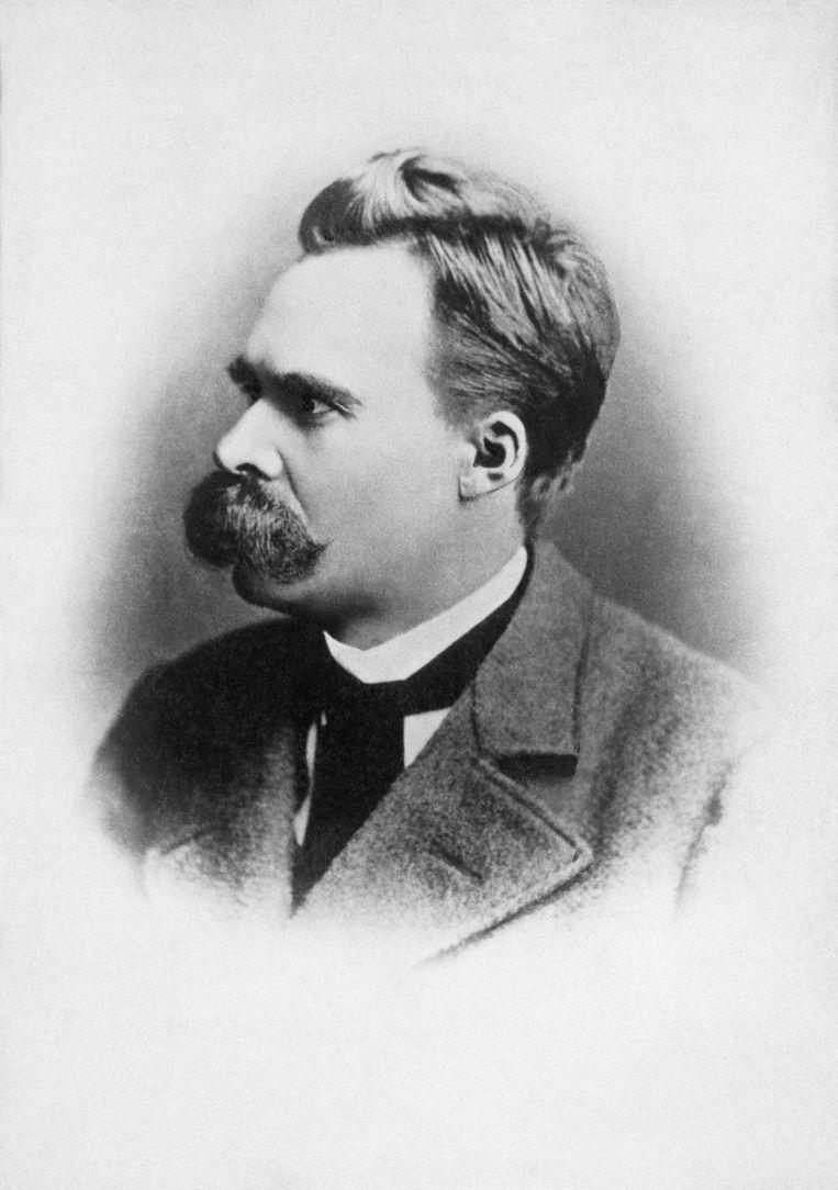 Friedrich Nietzsche (1844-1900) Beeld Getty