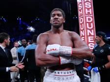 Anthony Joshua wil Tyson Fury slopen: 'Je kunt je niet verstoppen'