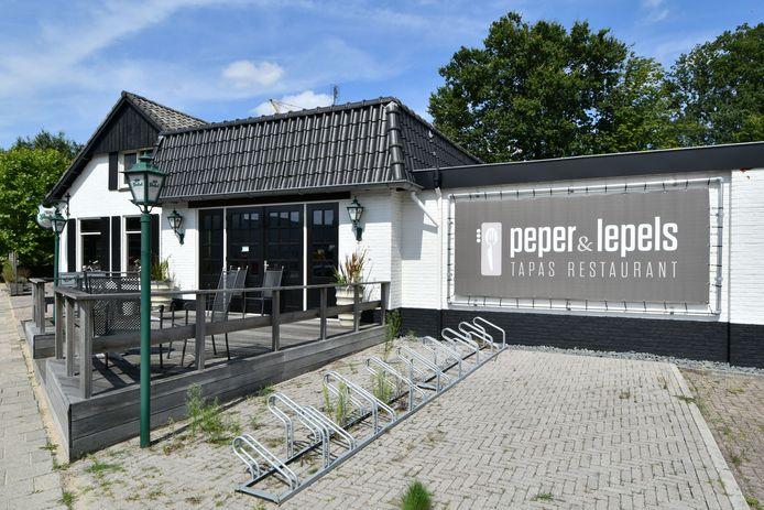 Restaurant Peper & Lepels aan de Reutummerweg in Tubbergen is failliet.