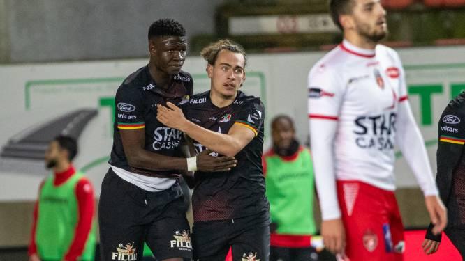 """Grote opluchting bij Arthur Theate en KV Oostende na winninggoal Gueye: """"Dit kan ons play-off 1 opleveren"""""""