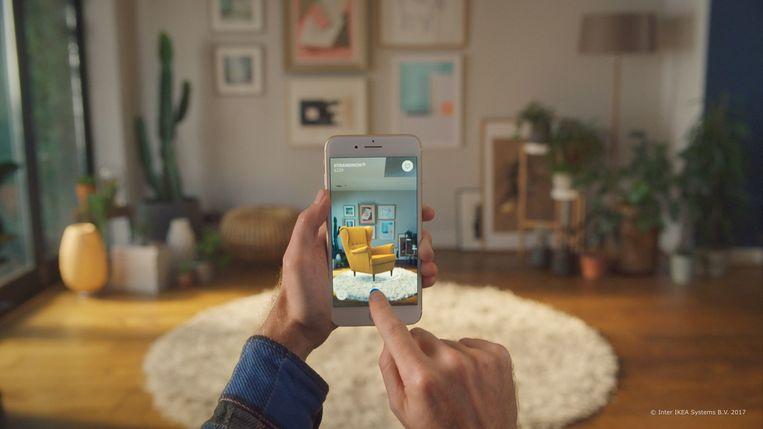IKEA gebruikt de techniek in zijn onlineverkoop. Beeld RV Inter IKEA Systems