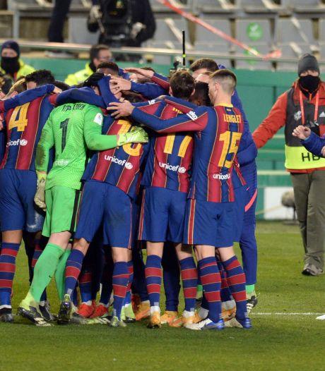 Le Barça écarte la Real Sociedad aux tirs au but et file en finale de la Supercoupe d'Espagne
