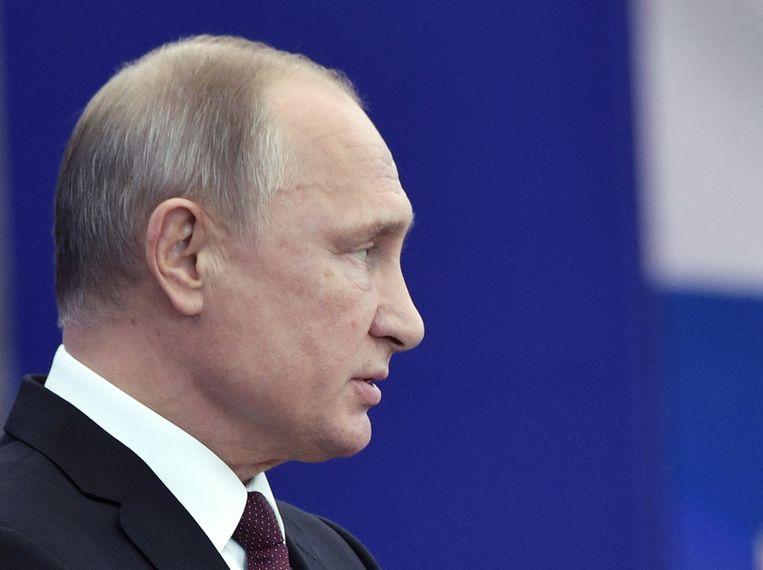 Beeld ter illustratie, de Russische president Vladimir Poetin.