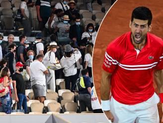 Chaos op Roland Garros: misnoegde fans stadion uitgejaagd net nadat Djokovic set had verloren