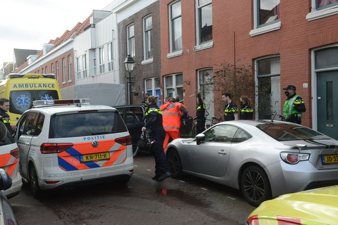 Steekpartij in Roggeveenstraat