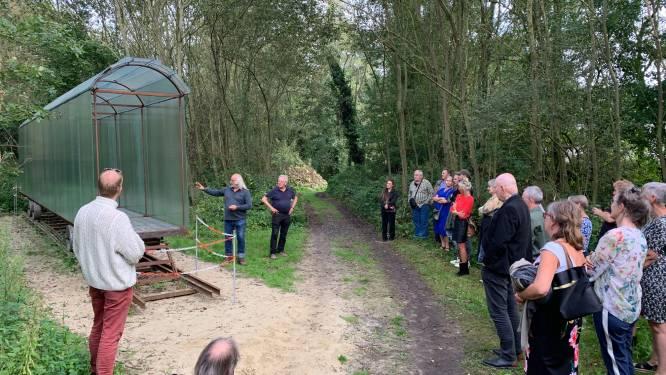 Glazen Wagon van kunstenaar Doms bereikt eindbestemming in België