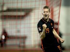 Luuk de Jong is deze zomer de droomkandidaat van PSV, maar is gelukkig in Sevilla
