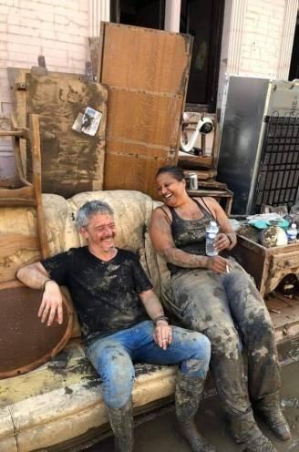 """Waarom deze man en vrouw zo goedgezind blijven te midden van alle ellende: """"Als zij lacht, kan ik alleen maar met haar meelachen"""""""