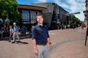 Centrummanager Marco Bod in de Hoofdstraat.