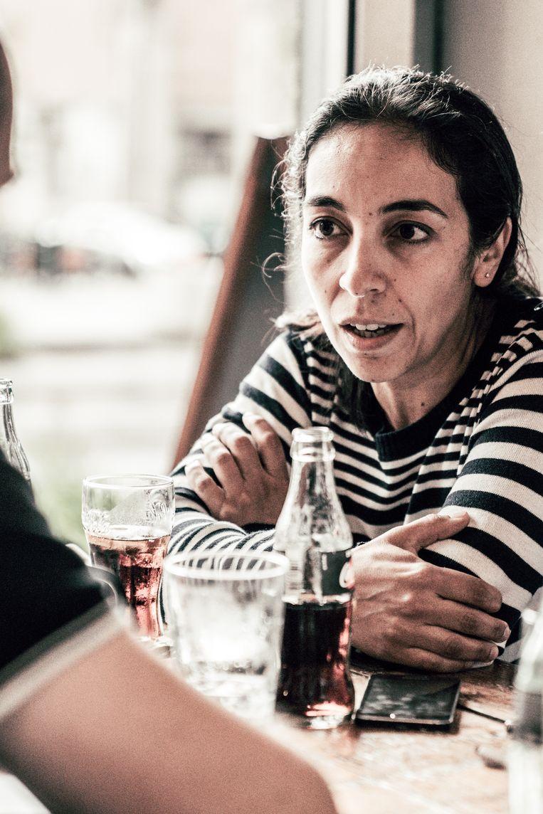 Rachida Lamrabet: 'Neutraliteit bestaat niet.' Beeld Thomas Sweertvaegher