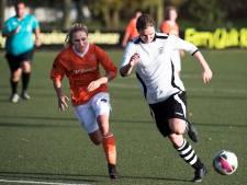 Vrouwen Prinses Irene verdubbelen totaal aantal doelpunten in een wedstrijd