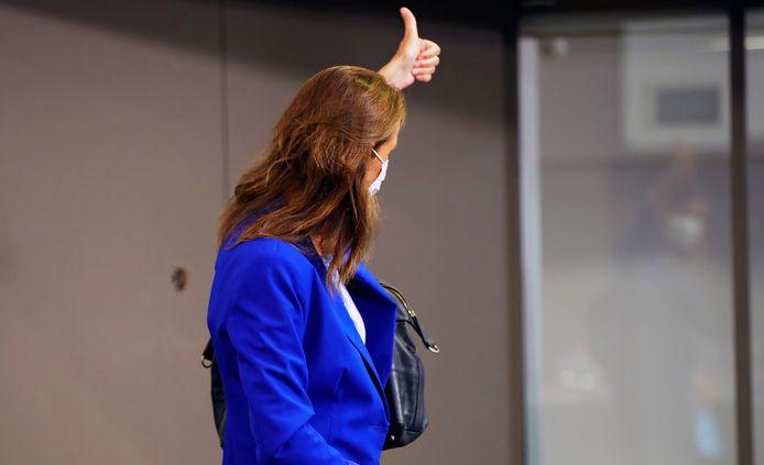 Sophie Wilmès avait annoncé en août que le prochain CNS aurait lieu fin septembre