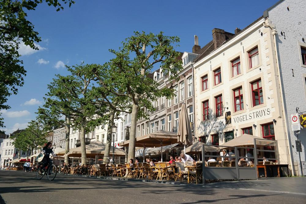 De binnenstad van Maastricht.