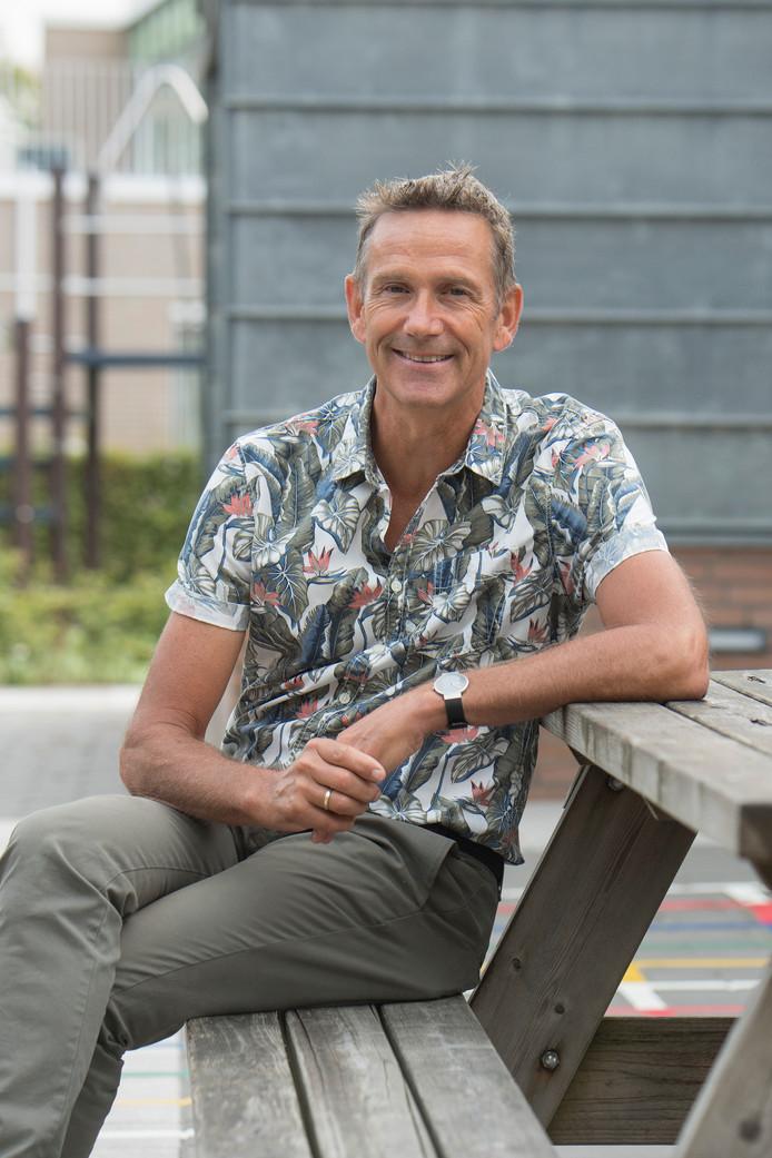 Jaap van Noppen, directeur basisschool Het Kompas in Kesteren.