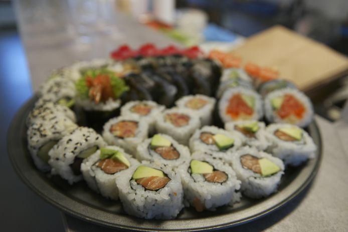 Voortaan kan je take-away sushi bestellen in tielt-Winge.