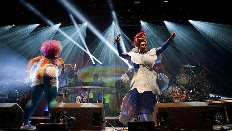Shake what your momma gave you! Basement Jaxx komt deze zomer naar Brussel. Beeld PHOTO_NEWS
