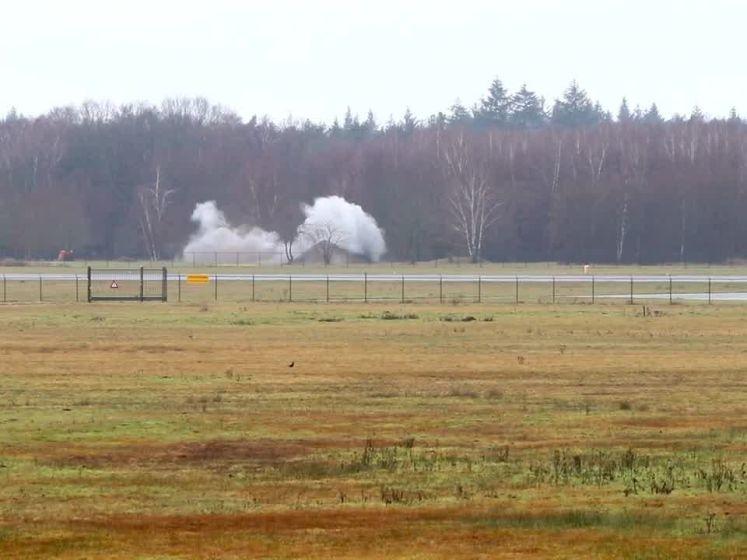 Vliegtuigbom tot ontploffing gebracht in Lonneker