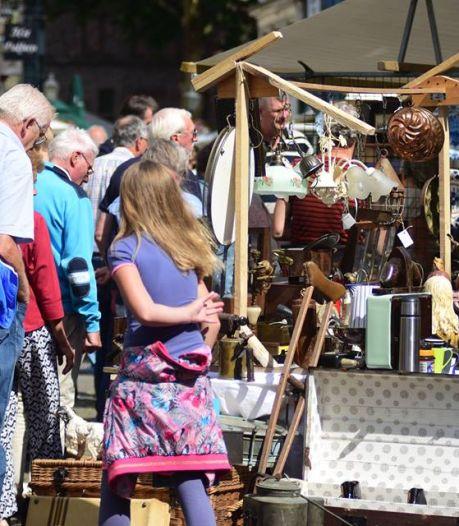 Montmartre-markten in Doesburg gaan door, maar bezoeker moet misschien wachten