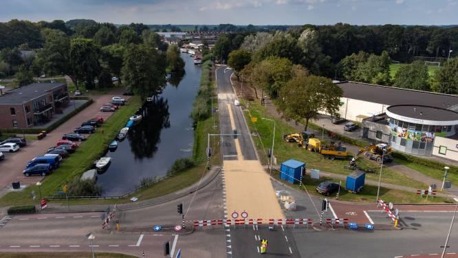 Vaartweg bij Hasselt nog twee weekeinden dicht door uitgelopen werkzaamheden