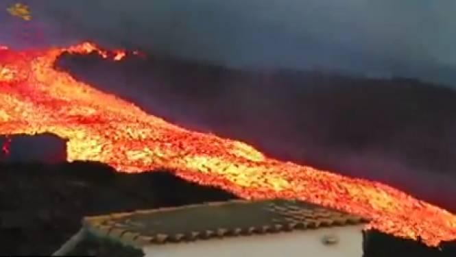 """""""Tsunami de lave"""" sur l'île de La Palma aux Canaries"""