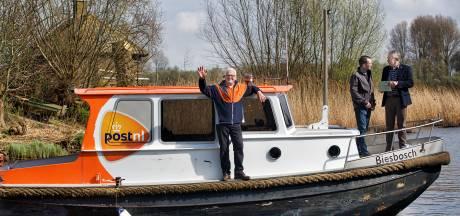 Postboot Biesbosch stopt: 'Drie uur varen voor vijf adressen is te veel'