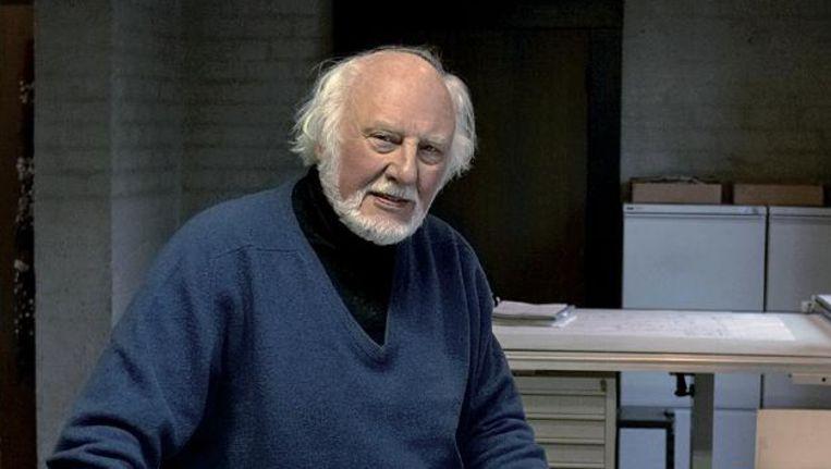 De nestor van de Nederlandse tuinarchitectuur overleed 1 februari op 94-jarige leeftijd in Vught. Beeld