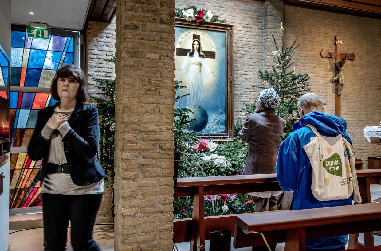 In de kapel van het RK Rectoraat Vrouwe van Alle Volkeren in Amsterdam.