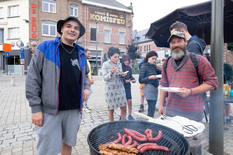 Barbecue 'Oud gewenst jong gedaan' van Pita Aghassaiy en This Is Y