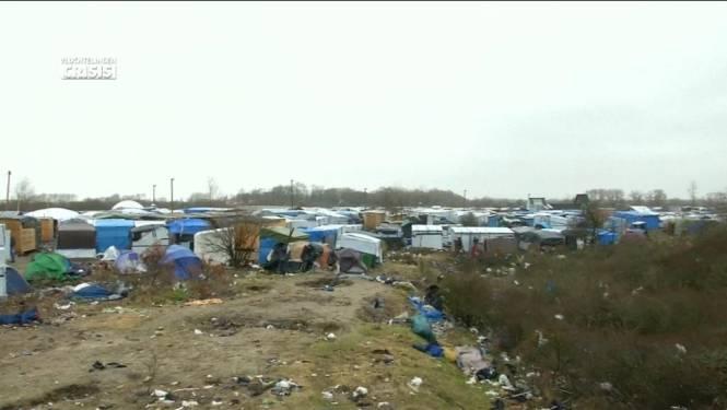 Vluchtelingen Calais naar rechter tegen ontruiming