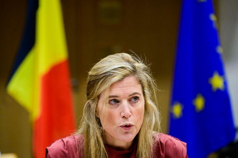 Annelies Verlinden Beeld BELGA