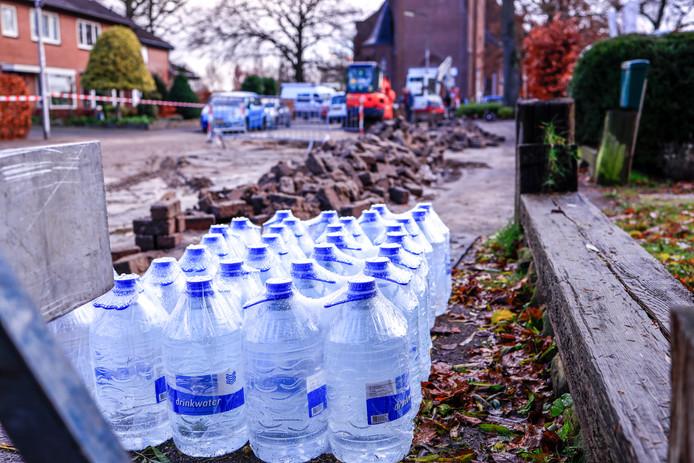 Vitens verzorgt drinkwater voor de bewoners van de Kerkstraat in Hoogland