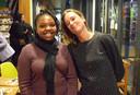 Gastcuratoren Manon Braat en Nkule Mabaso stelden de expositie samen.