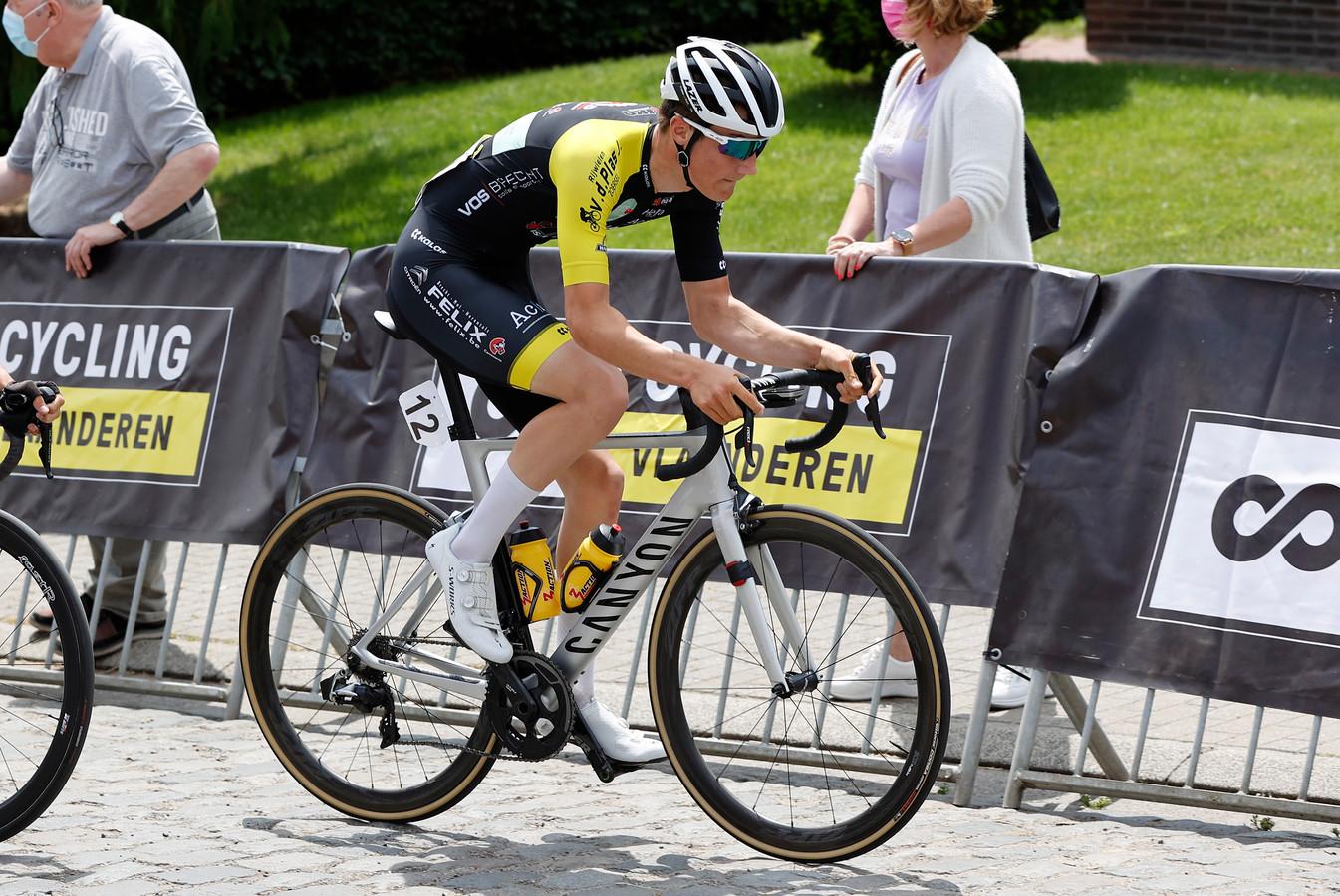 Milan Kuypers probeert in de driedaagse Aubel-Thimister-Stavelot zijn grenzen te verleggen.