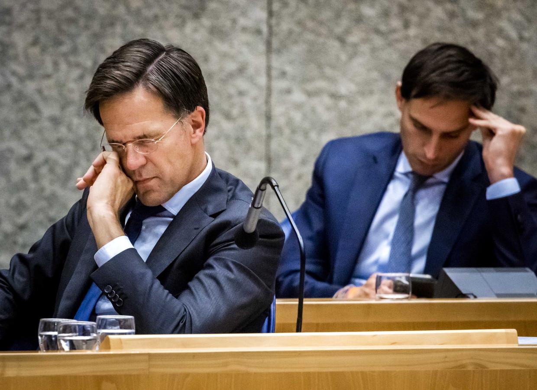 Premier Mark Rutte en minister van Financiën Wopke Hoekstra