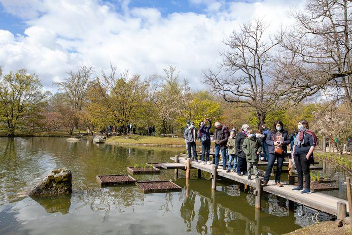 Voor de Hasselaren en de toeristen blijft De Japanse Tuin een 'must-see'.