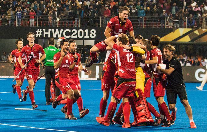 Les Red Lions rêvent de l'or olympique, comme d'autres sportifs belges.