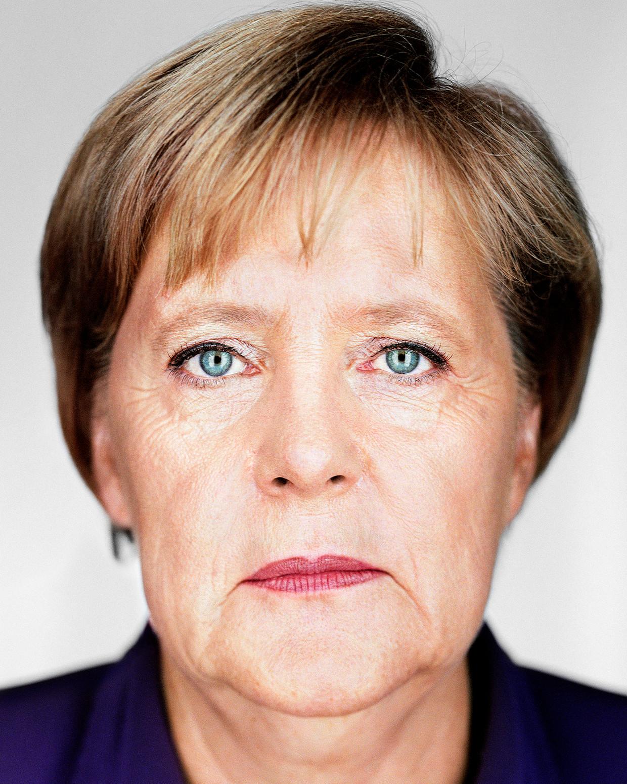 Angela Merkel treedt terug als CDU-partijleider en na de verkiezingen in september ook als bondskanselier. Beeld August/Martin Schoeller/ANP