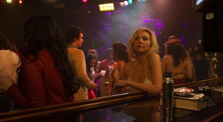 Maggie Gyllenhaal als Candy in The Deuce. Beeld