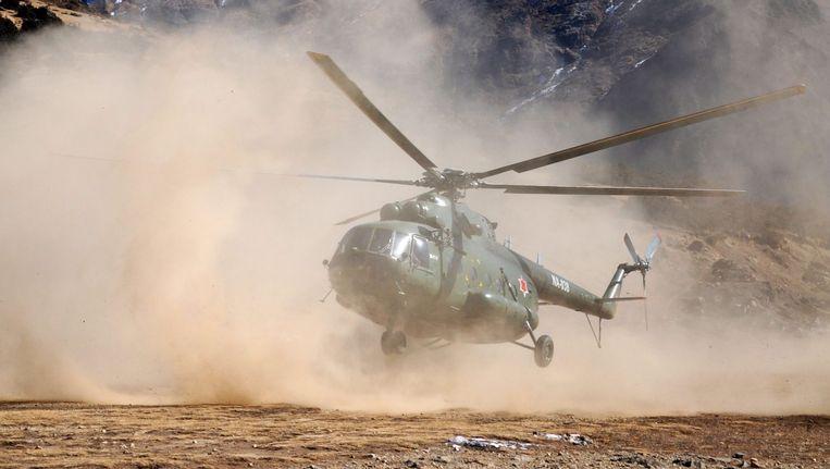 Een helikopter van hetzelfde type Mil Mi-17 Beeld EPA