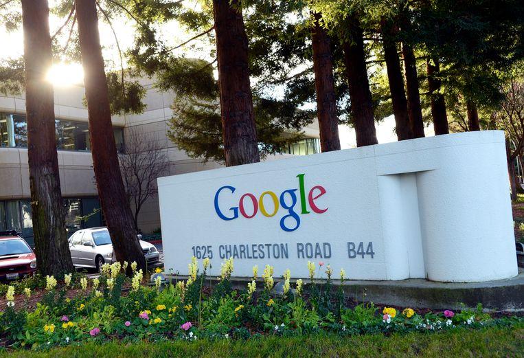 Het hoofdkwartier van Google in Mountain View, Californië. Beeld EPA