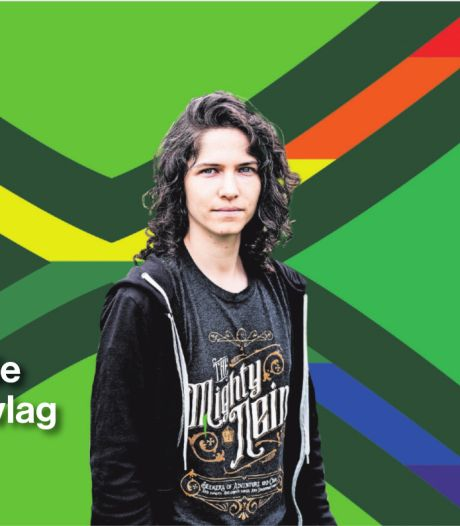 Dit is de regenboogversie van Achterhoekvlag: kleine aanpassing met grote symbolische waarde
