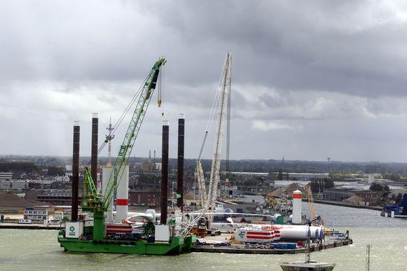 De haven van Oostende. Archieffoto.