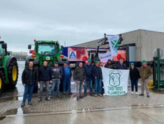 """Boze boeren blokkeren hoofdzetel en verdeelcentrum Aldi in Erpe-Mere: """"Prijsbrekers strijden om marktaandeel op onze kap"""""""