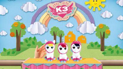 Hanne, Marthe en Klaasje worden pony's in nieuwe K3-show