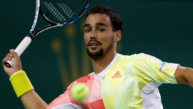 Fabio Fognini. Beeld Photo News